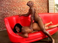 Lucky black guy hard fucking big booty african ebony whore