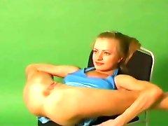 Very Flexible Gymnast