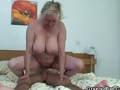 Big boobs  fucked hard by young