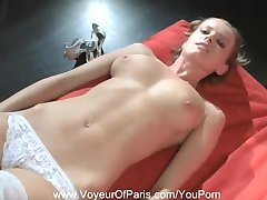 Nude Blonde MILF From Paris, France