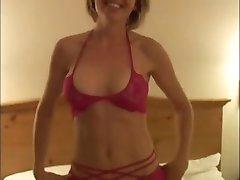 BBC dump cum in hot blond wife