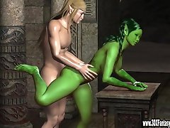 3d Babes in Hot Hardcore Action