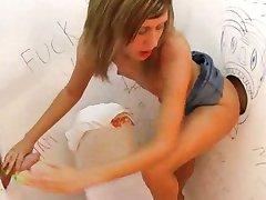 Hot girl banged by impatient boyfriend
