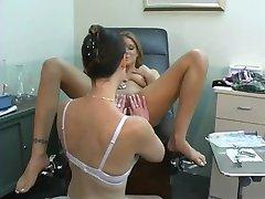 Doctor in white bra pt 23