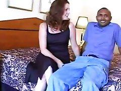 White slut wife satisfies huge black