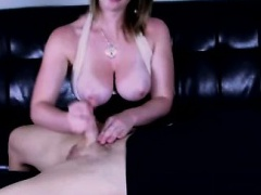 Annika loves giving a handjob