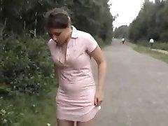 public girl