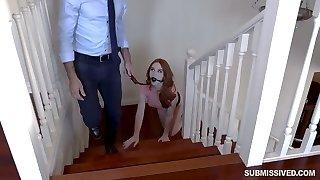 Randy bitch Chloe is sent up to her bedroom!