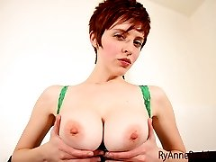 Do you like my nice big tits? Do you get hard when you see a woman with big tits and no bra...