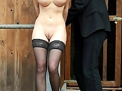 Horrible tit and pussy whipped