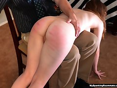 Episode 225: Secretary Alaina Fox Spanked and Caned