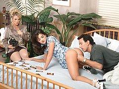 Stephanie Swift and Missy banged in threeway