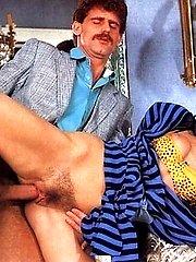 Seventies lady anal stuffed