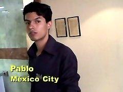 Chico Hispano-Americano Masturbandose