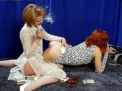 cigarette smoking babes