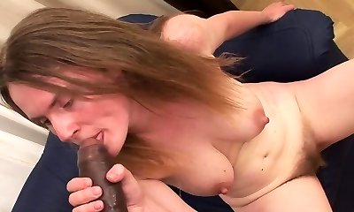 Sexy Teri lets you watch her smoking a cigar while she shows off her boobs
