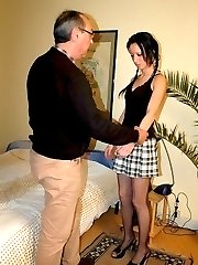 Stealing money earns her an extra spanking and humiliation