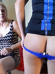 Briannas Mom Spanks Her