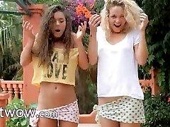 horny girls in the rain