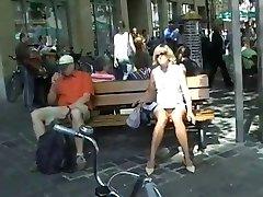 pantyless outdoor