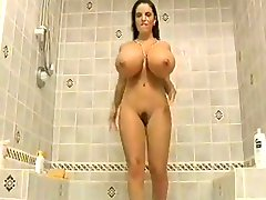 Cindy Fulsom in the shower