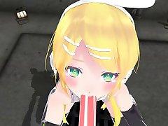 3D POV Vocaloid Rin Hentai