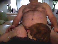 bear daddy gets blowjob