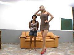 Brazilian severe trampling foot domination