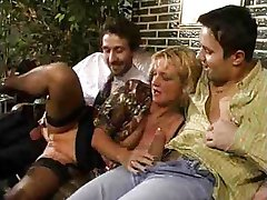 Bea Dumas - German Mom fucked by Dad and Son