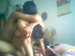 Indian mature couple