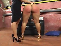 Her Big Round Juicy Ass Gets Spanked!!!!!!!