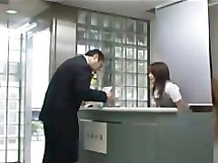 Fucking hot asian receptionist