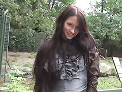 Eroberlin presents Maria from Russia in sexy Animalpark