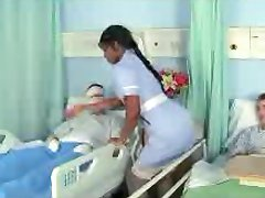 Ebony Nurse Jasmine in a good Job