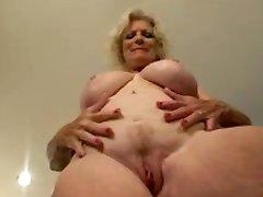 Hot Granny Masturbating by TROC