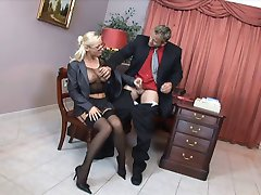 Boss fucking the secretary