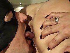 slave licking ass