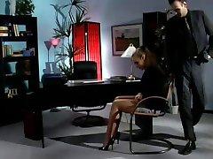 secretary fucks in nylons
