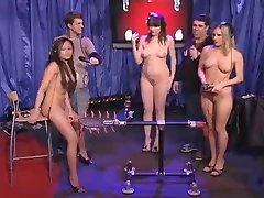 3 Naked Girl On TV