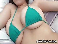 Cute brunette asian hottie part4
