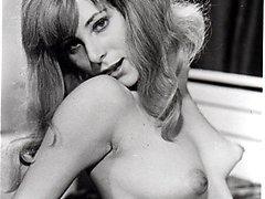 Puffy nippled retro ladies