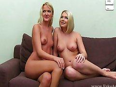Casting Lana and Lea