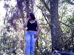 Crisputinha trepando no Parque Tingui