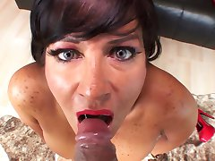 She Finishes It Off 7 - Cum In Mouth Compilation