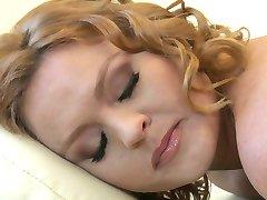 Brazzers - HOT blonde girlfriend Krissy Lynn is massaged