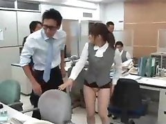 Japan Office Girls Skirt Is Way Too Short