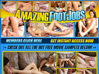 Amazing Footjobs