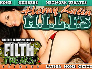 Horny Latin Milfs
