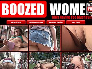 Boozed Women