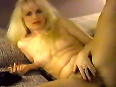 Hairy Blonde Striptease Classic